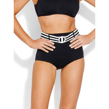Seafolly Belted High Waisted Pant : Black