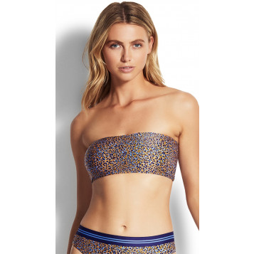 Spirit Animal Tube Top : Reflex Blue