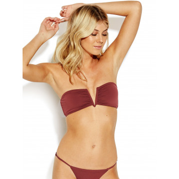 Active V Wire Bandeau : Plum