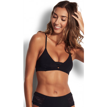 Active Bralette : Black