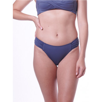 Seafolly Ruched Side Retro : Granite