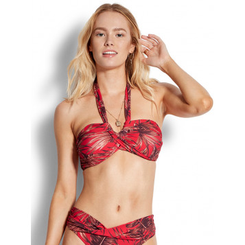 Tahiti Bandeau : Chilli Red